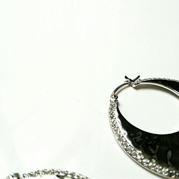 65dbf1a85 Judith Jack Jewelry | New Sterling Silver Hoop Earrings By | Poshmark
